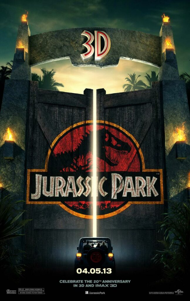 In the film, rich entrepreneur John Hammond and a group of genetic scientists have come up with a wildlife park meant for de-extinct dinosaurs.